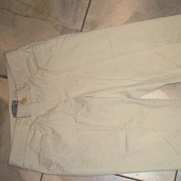 Dockers Pants - Dockers Ideal Fit Khaki/ Beige Cotton Long Shorts